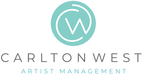 Carlton West Artists Logo